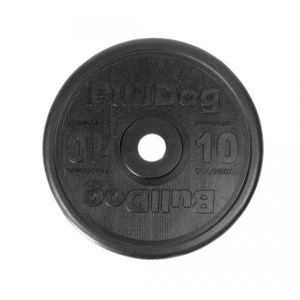 BullDogsportscol | Disco Funcional Negro 10lb